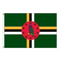 Dominica Nylon Flags - (UN, OAS Member)