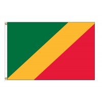 Congo Republic Nylon Flags  (UN Member)