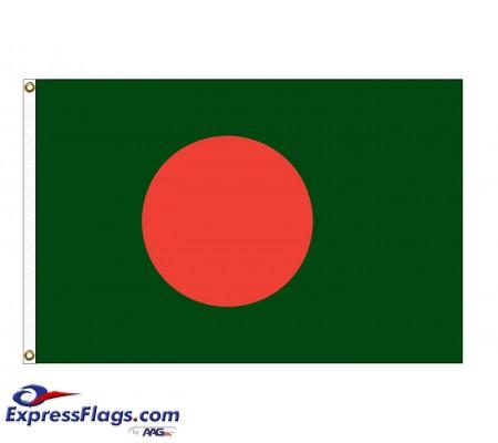 Bangladesh Nylon Flags - (UN Member)BGD-NYL