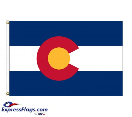 Poly-Max Colorado State FlagsCO-PM
