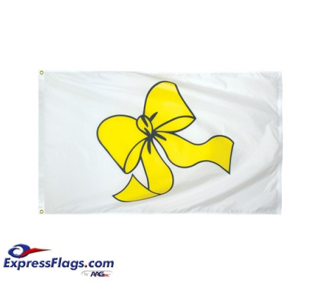 Yellow Ribbon Flags - 3  x 5070324