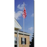 18 ft. Colonial Aluminum Flagpole Sets