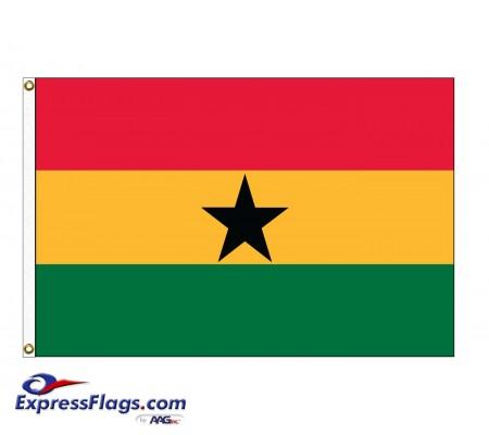 Ghana Nylon Flags (UN Member)GHA-NYL