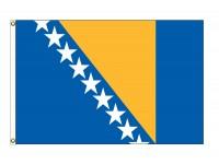 Bosnia-Herzegovina Nylon Flags - (UN Member)