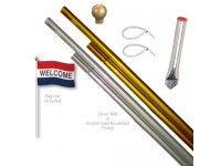 Aluminum Display Pole Sets