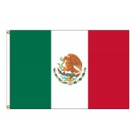 Mexico Nylon Flags (UN, OAS Member)