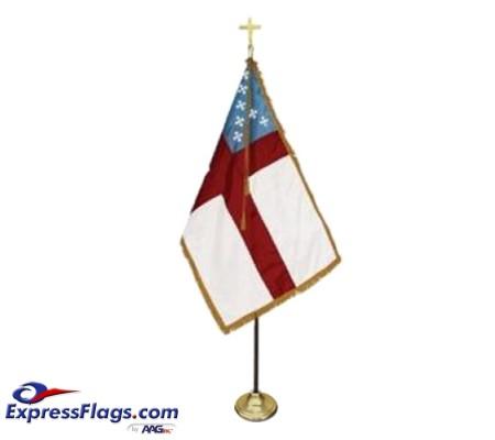 3  x 5  Deluxe Episcopal Indoor Flag SetFS-E35