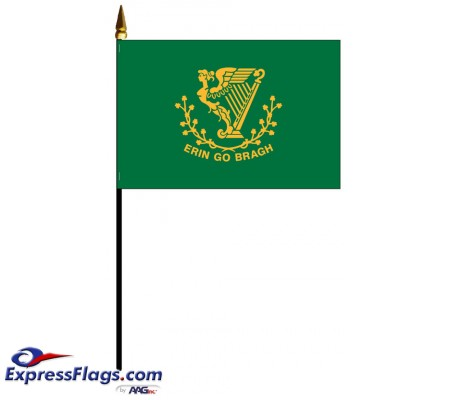 Erin Go Bragh Mounted Flags031386