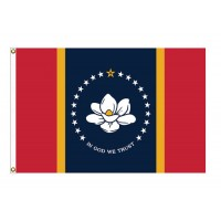Nylon Mississippi State Flags (NEW)