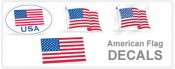 Flag Decals, Stickers