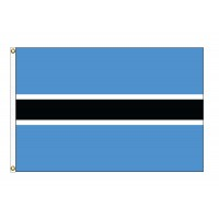 Botswana Nylon Flags - (UN Member)