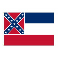 Nylon Mississippi State Flags