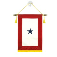 Blue Star Service Banners - 1 Star