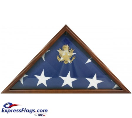 Cherry Memorial Flag Case - Fits 5  x 9-1/2  Flag070331