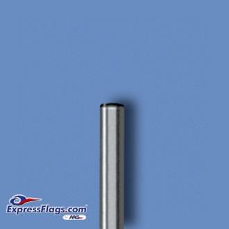 Deluxe Aluminum Indoor Poles - Silver FinishP-S