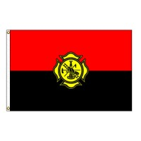 Fireman Remembrance Flag - 3' x 5' Endura-Nylon