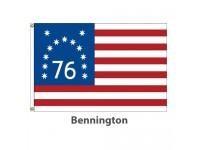 Printed Nylon - Bennington American Historical Flags