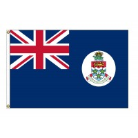 Cayman Islands Nylon Flags  (UN Member)