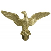 Metal Slip-Fit Eagle Ornaments