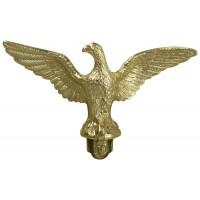 Metal Slip-Fit Eagle Ornaments