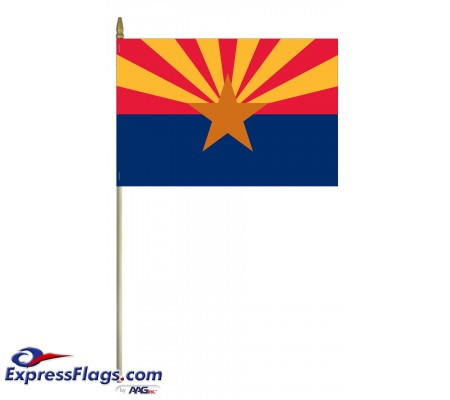 Mounted Arizona State Flags