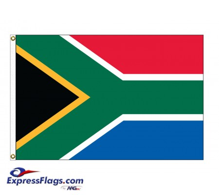 South Africa Nylon Flags (UN Member)ZAF-NYL