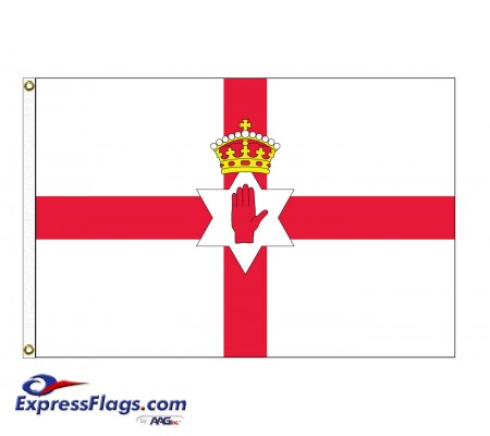 Northern Ireland Nylon Flags - 3  x 5033070