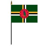 Dominica Mounted Flags