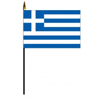 Greece Mounted Flags
