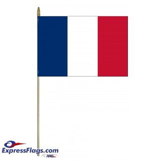 France Mounted Flags