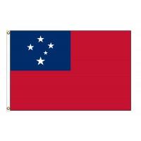 Western Samoa Nylon Flags (UN Member)