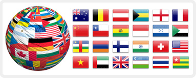 Country & International Flags