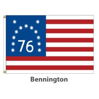 Sewn Nylon - Bennington American Historical Flags