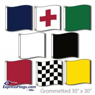 Motorcycle Racing Flags Set Official Size 30in x 30in NylonMCRFS-3030