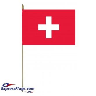 Switzerland Mounted FlagsCHE-MTD