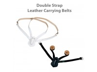 Double Strap Leather Carrying Belts