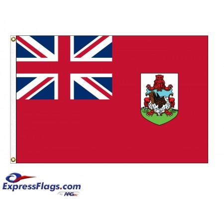 Bermuda Nylon FlagsBMU-NYL