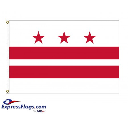 Nylon District of Columbia FlagsDC-NYL