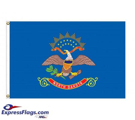 Poly-Max North Dakota State FlagsND-PM
