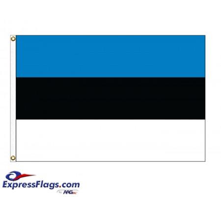 Estonia Nylon Flags (UN Member)EST-NYL