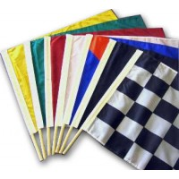 Auto Racing Flags Set Official Size 24in x 30in Nylon