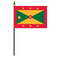 Grenada Mounted Flags