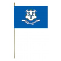 Mounted Connecticut State Flags