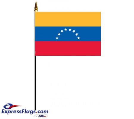 Venezuela Mounted Flags