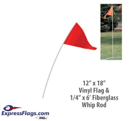 Whip Rod & Flag OnlyBSF-WF