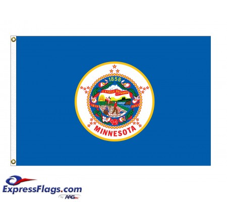 Nylon Minnesota State FlagsMN-NYL