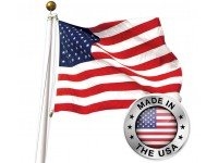 American 3' x 5' Flag - SUN-BRITE Nylon Made in USA