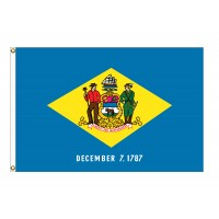 Nylon Delaware State Flags