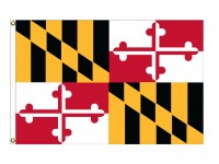 Nylon Maryland State Flags