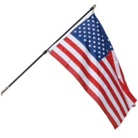 Regal Wall Mount U.S. Flag & Flagpole Sets